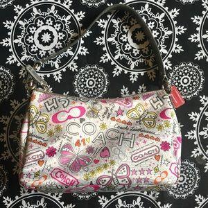 Coach Poppy Graffiti Mini Bag, NWOT, Lovely! 💜🦋